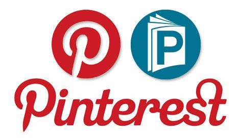 Pintrest + printMag logos