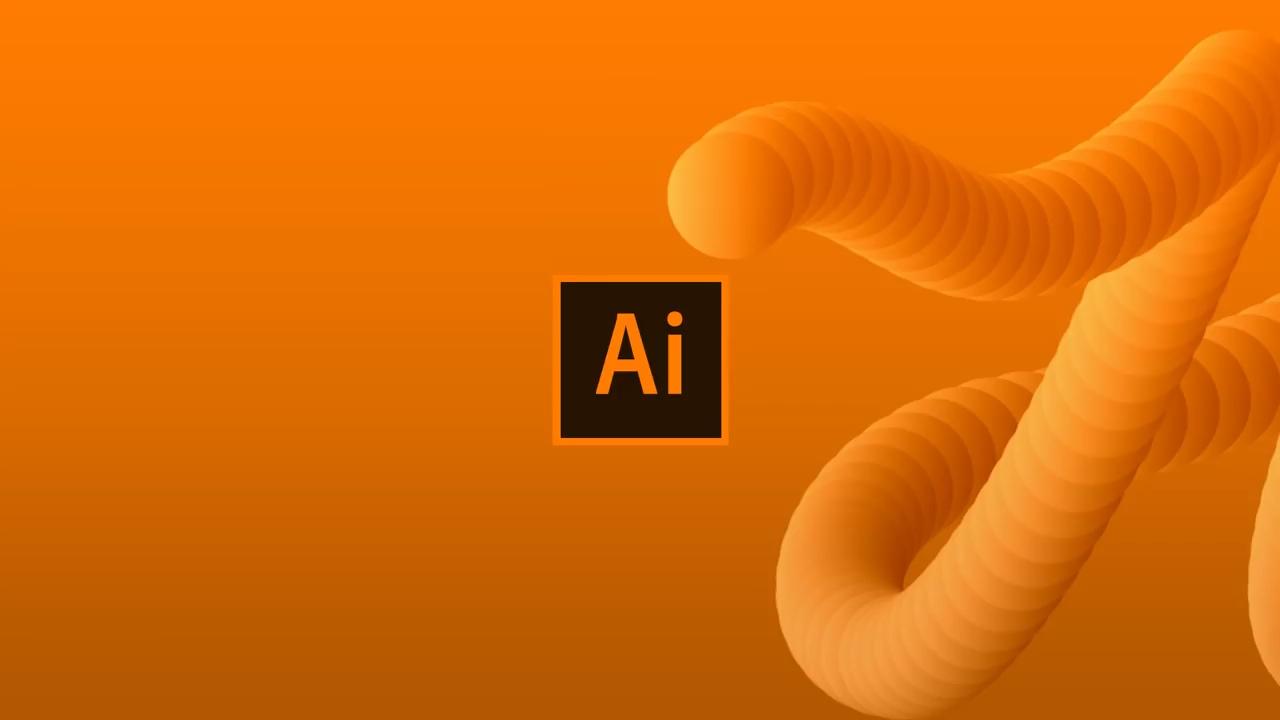 ساختن نوشته سه بعدی در الستریتور در یک دقیقه