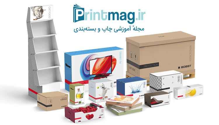 انواع جعبه بسته بندی