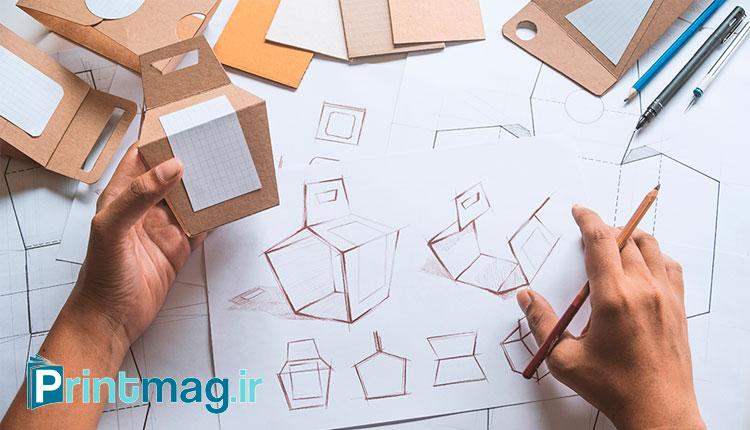 طراحی ساختار بسته بندی