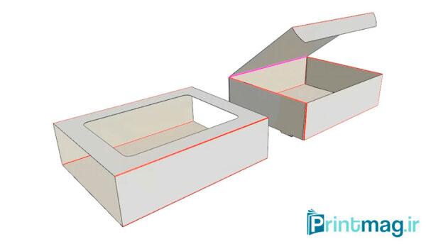 طراحی جعبه چند تیکه در آرتیوس کد